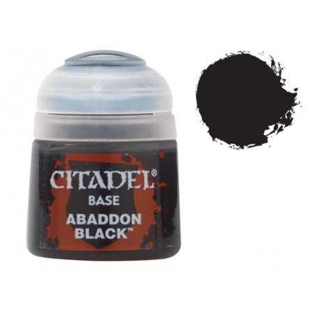 Abaddon Black base Citadel colore Warhammer Games Workshop - 1