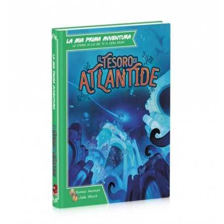 IL TESORO DI ATLANTIDE libro game in italiano LA MIA PRIMA AVVENTURA da 7 anni libro gioco daVinci Games - 1