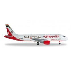 AIRBERLIN AIRBUS A320 HERPA WINGS 556569 modellino scala 1:200 Herpa - 1