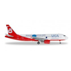 AIRBERLIN AIRBUS A320 HERPA WINGS 557412 modellino scala 1:200 Herpa - 1