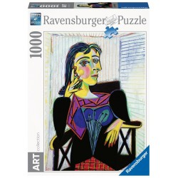 PUZZLE ravensburger PORTRAIT OF DORA MAAR 1000 pezzi PABLO PICASSO art collection 50 X 70 CM softclick Ravensburger - 1