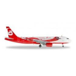 AIRBERLIN AIRBUS A320 TOPBONUS HERPA WINGS 557269 modellino scala 1:200 Herpa - 1