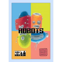 ROBOTS in italiano LITTLE ROCKET GAMES gioco di carte PER GIOVANI INVENTORI età 6+ Little Rocket Games - 1