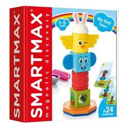 MY FIRST TOTEM gioco magnetico SMARTMAX extra large COSTRUZIONI in plastica 24 SFIDE età 18 mesi + smartmax - 1