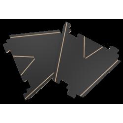 PITCHCAR extension 8 the Y UPSILON espansione in legno completa di barriere in plastica Ferti games - 1