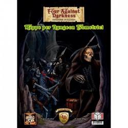 FOUR AGAINST DARKNESS MAPPE PER DUNGEON ISOMETRICI edizione italiana MS Edizioni - 1
