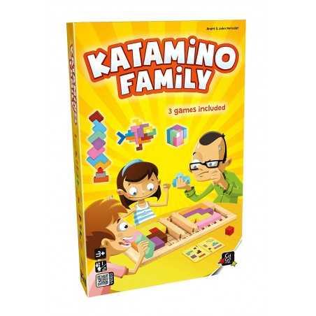 KATAMINO FAMILY gioco da tavolo EDUCATIVO edizione italiana IN LEGNO veloce OLIPHANTE età 3+ Oliphante - 1