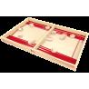PASSE TRAPPE MICRO 1.7 gioco di abilità IN LEGNO velocità e precisone UNO CONTRO UNO ad elastico FERTI età 4+ Ferti games - 2