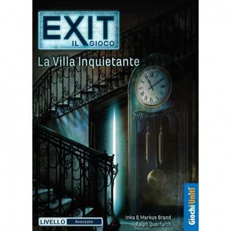 LA VILLA INQUIETANTE escape room EXIT il gioco IN ITALIANO rompicapo LIVELLO AVANZATO età 12+ Giochi Uniti - 1