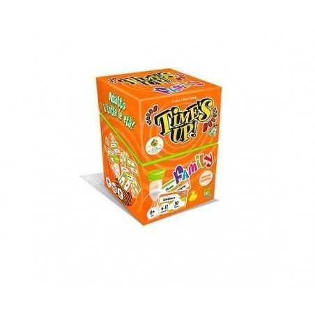 TIME'S UP FAMILY versione arancione PARTY GAME asmodee IN ITALIANO per tutte le età 3 ROUND età 8+ Asmodee - 1