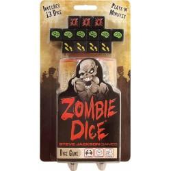 ZOMBIE DICE steve jackson games IN INGLESE asmodee GIOCO DI DADI set di 13 SCATOLA CILINDRICA età 10+ Asmodee - 1