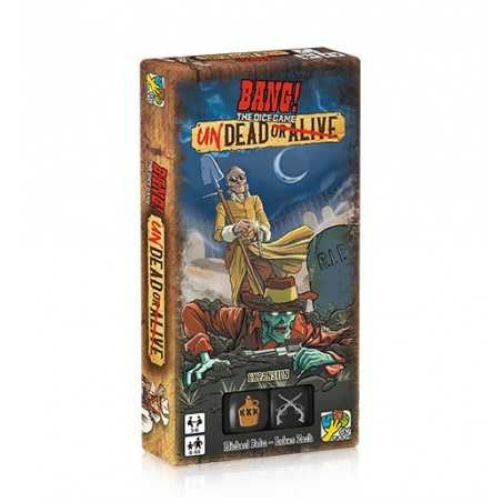BANG the dice game ESPANSIONE undead or alive DV GIOCHI in italiano 2XD6 8 personaggi GIOCO DI DADI età 8+ daVinci Games - 1