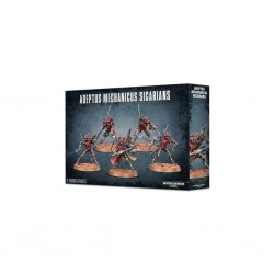 ADEPTUS MECHANICUS SICARIANS ruststalkers CITADEL infiltrators WARHAMMER 40K 5 miniature GAMES WORKSHOP età 12+ Games Workshop -