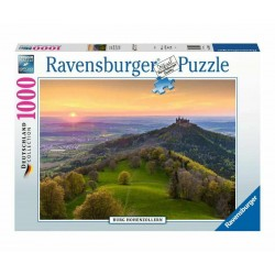 PUZZLE ravensburger CASTELLO DI HONENZOLLERN deutschland collection 1000 PEZZI 70 x 50 cm Ravensburger - 2