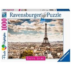 PUZZLE ravensburger PARIGI beautiful skylines 1000 PEZZI 70 x 50 cm PARIS highlights Ravensburger - 1