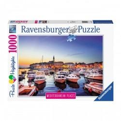 PUZZLE ravensburger CROAZIA mediterranean places 1000 PEZZI 70 x 50 cm HIGHLIGHTS Ravensburger - 1