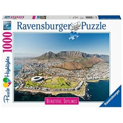 PUZZLE ravensburger CAPE TOWN beautiful skylines 1000 PEZZI 70 x 50 cm HIGHLIGHTS Ravensburger - 1