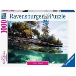 PUZZLE ravensburger PUNTI DI VISTA joan segui 1000 PEZZI talent collection 70 X 50 CM points of view Ravensburger - 1