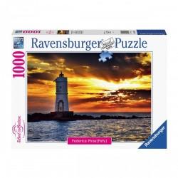 PUZZLE ravensburger FARO MANGIABARCHE sant'antioco 1000 PEZZI federica piras 70 X 50 CM talent collection Ravensburger - 1