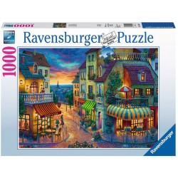 PUZZLE ravensburger SERATA A PARIGI original quality 1000 PEZZI 70 x 50 cm EVENING IN PARIS Ravensburger - 1
