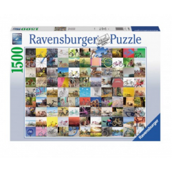 PUZZLE ravensburger 99 BICICLETTE E ALTRO original quality 1500 PEZZI 80 x 60 cm AND MORE Ravensburger - 1
