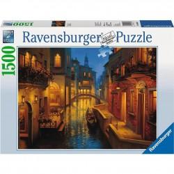PUZZLE ravensburger CANALE VENEZIANO original quality 1500 PEZZI 80 x 60 cm WATERS OF VENICE Ravensburger - 1