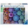 PUZZLE ravensburger UN PUNTO ALLA VOLTA original quality 1500 PEZZI 80 x 60 cm RICCI DI MARE Ravensburger - 1