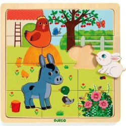 PUZZLO FERME puzzle DJECO...