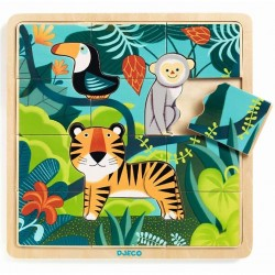 PUZZLO JUNGLE puzzle DJECO...