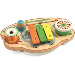 CARNEVALE MUSICALE set di strumenti ANIMAMBO in legno DJECO gioco DJ06027 con base 2+ Djeco - 1