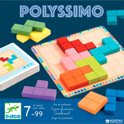 POLYSSIMO game DJECO wooden...