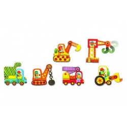 Puzzles DJECO duo voiture...
