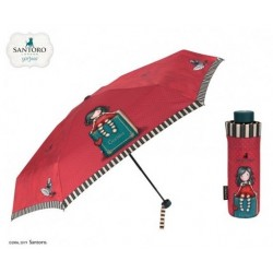 MINI OMBRELLO donna MY STORY umbrella GORJUSS santoro 79082 london ROSSO Gorjuss - 1