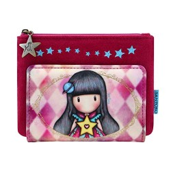 PORTAFOGLI SMALL santoro MOON BUTTONS london GORJUSS wallet 872GJ03 circo ROSA Gorjuss - 1