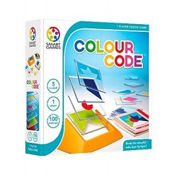 COLOUR CODE gioco solitario SMART GAMES logica EDUCATIVO a strati ROMPICAPO età 5+ Smart Games - 1