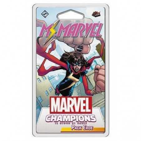 MS. MARVEL kamala khan PACK EROE espansione MARVEL CHAMPIONS il gioco di carte ASMODEE età 12+