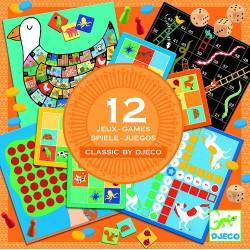 12 CLASSIC GAMES assortiti...