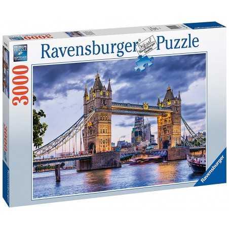 PUZZLE la bellissima città di LONDRA ravensburger 3000 PEZZI 121 x 80 cm