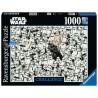 PUZZLE CHALLENGE ravensburger STAR WARS difficile 1000 PEZZI soft click 70 X 50 CM