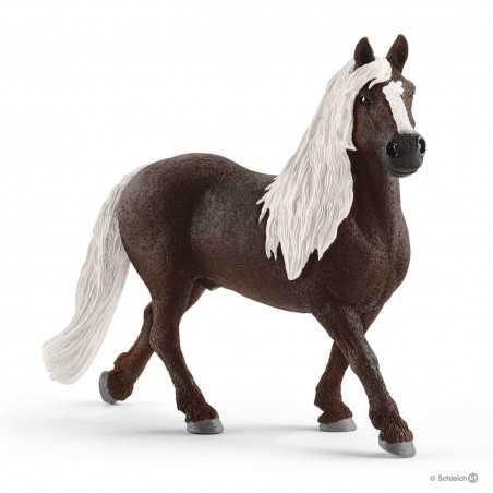 STALLONE DELLA FORESTA NERA black forest stallion HORSE CLUB schleich 13897 miniatura 3+
