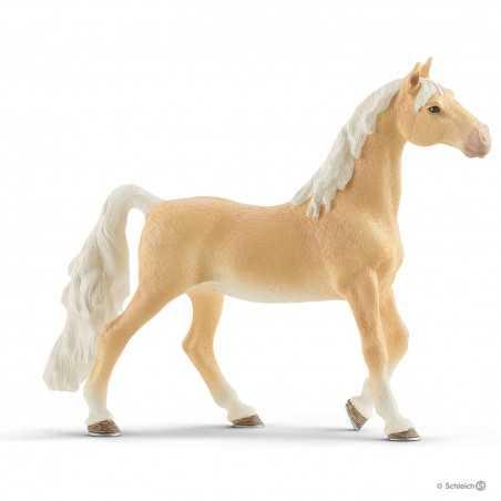 CAVALLA AMERICANA SADDLEBRED mare HORSE CLUB schleich 13912 miniatura CAVALLI età 3+