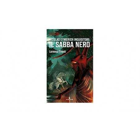 IL SABBA NERO nicolas eymerich inquisitore LIBRO GAME lorenzo trenti RAVEN dedalo GAMEBOOK numero 1