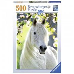 PRIMAVERA EQUESTRE ravensburger PUZZLE da 500 pezzi 49 X 36 CM premium GIUMENTA Ravensburger - 1