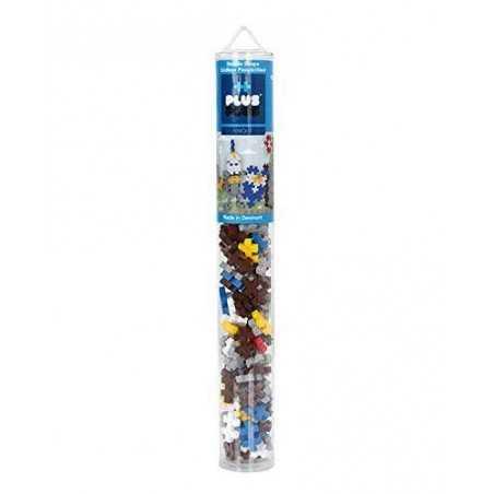 TUBO knight MINI BASIC 100 pezzi CAVALIERE plus plus PLUSPLUS gioco modulare COSTRUZIONI età 5+