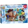 TOY STORY 4 restiamo uniti 3 PUZZLE da 49 pezzi RAVENSBURGER 21 x 21 cm CON POSTER età 5+