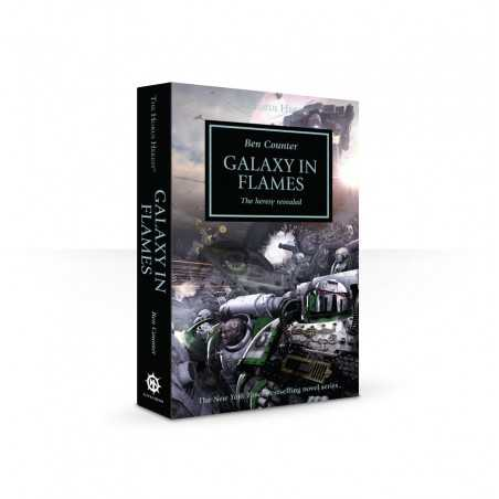 GALAXY IN FLAMES ben counter THE HERESY REVEALED the horus heresy LIBRO in inglese BLACK LIBRARY