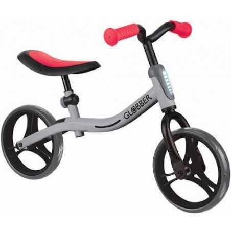 GO BIKE bicicletta senza pedali GLOBBER bici REGOLABILE equilibrio GRIGIA età 2+