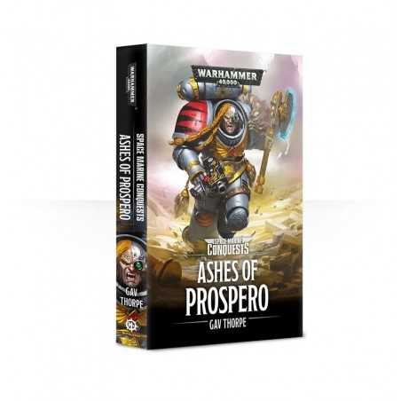 ASHES OF PROSPERO space marines conquests BLACK LIBRARY libro IN INGLESE gav thorpe WARHAMMER 40K