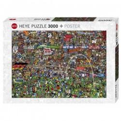 PUZZLE 3000 pezzi Heye...