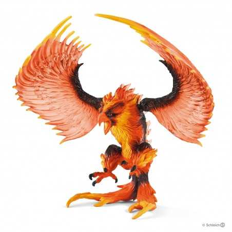 AQUILA DEL FUOCO animali in resina SCHLEICH miniature 42511 eldrador FIRE EAGLE età 3+